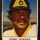 SAN DIEGO PADRES GENE TENACE 1978 HOSTESS # 125