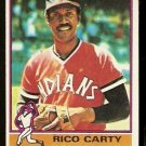 CLEVELAND INDIANS RICO CARTY 1976 TOPPS # 156 VG