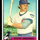 CHICAGO CUBS STEVE SWISHER 1976 TOPPS # 173
