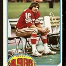 SAN FRANCISCO FORTY NINERS STEVE MIKE-MAYER 1976 TOPPS # 58 NR MT