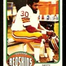 WASHINGTON REDSKINS BRYANT SALTER 1976 TOPPS # 74 NR MT