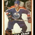 EDMONTON OILERS MARK MESSIER ALL STAR 1984 TOPPS # 159