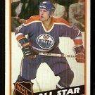 EDMONTON OILERS MARK MESSIER ALL STAR 1984 TOPPS # 159