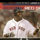 BOSTON RED SOX 2008 POCKET SCHEDULE DAVID ORTIZ BIG PAPI