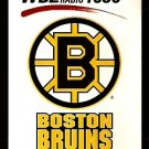BOSTON BRUINS 1997 POCKET SCHEDULE