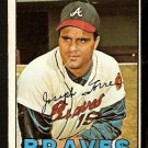 ATLANTA BRAVES JOE TORRE 1967 TOPPS # 350 fair/good
