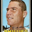 PHILADELPHIA PHILLIES DICK ELLSWORTH 1967 TOPPS # 359 EX
