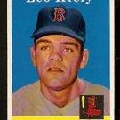 BOSTON RED SOX LEO KIELY 1958 TOPPS # 204 EX MT