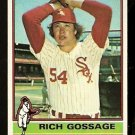 CHICAGO WHITE SOX RICH GOSSAGE 1976 TOPPS # 180 EX/EM