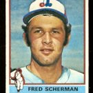 MONTREAL EXPOS FRED SCHERMAN 1976 TOPPS # 188 VG