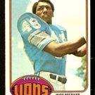 DETROIT LIONS LARRY WALTON 1976 TOPPS # 106 EX/EM