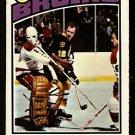 BOSTON BRUINS WAYNE CASHMAN 1976 TOPPS # 165 VG
