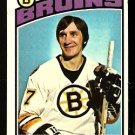 BOSTON BRUINS BOB SCHMAUTZ 1976 TOPPS # 189 VG