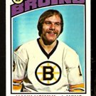 BOSTON BRUINS HANK NOWAK 1976 TOPPS # 224 EM/NM