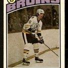 BOSTON BRUINS DOUG HALWARD 1976 OPC O PEE CHEE # 306 NR MT