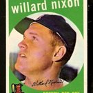 BOSTON RED SOX WILLARD NIXON 1959 TOPPS # 361