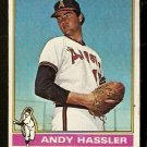 CALIFORNIA ANGELS ANDY HASSLER 1976 TOPPS # 207 VG+