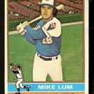 ATLANTA BRAVES MIKE LUM 1976 TOPPS # 208 VG/EX