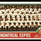 MONTREAL EXPOS TEAM CARD 1976 TOPPS # 216 VG UNMARKED CL