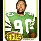 PHILADELPHIA EAGLES RICH GLOVER 1976 TOPPS # 121 EX