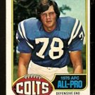 BALTIMORE COLTS JOHN DUTTON ALL PRO 1976 TOPPS # 130 EX