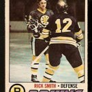 BOSTON BRUINS RICK SMITH 1977 OPC O PEE CHEE # 104 VG