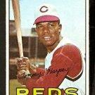 CINCINNATI REDS TOMMY HARPER 1967 TOPPS # 392 VG/EX