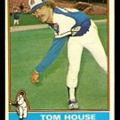 ATLANTA BRAVES TOM HOUSE 1976 TOPPS # 231 VG
