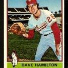 CHICAGO WHITE SOX DAVE HAMILTON 1976 TOPPS # 237 EM/NM