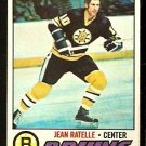 BOSTON BRUINS JEAN RATELLE 1977 TOPPS # 40 EX/EM
