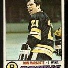 BOSTON BRUINS DON MARCOTTE 1977 TOPPS # 165 EM/NM