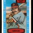 BALTIMORE ORIOLES BOBBY GRICH 1975 KELLOGGS 3-D SUPER STARS # 4a cracked