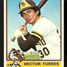 SAN DIEGO PADRES HECTOR TORRES 1976 TOPPS # 241 VG