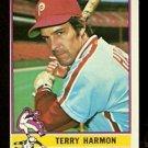 PHILADELPHIA PHILLIES TERRY HARMON 1976 TOPPS # 247 EX