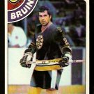 BOSTON BRUINS DON MARCOTTE 1978 TOPPS # 236 NR MT