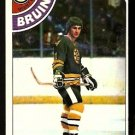 BOSTON BRUINS BOB SCHMAUTZ 1978 TOPPS # 248 NR MT
