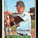 MINNESOTA TWINS TED UHLAENDER 1967 TOPPS # 431 EX