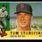 BOSTON RED SOX TOM STURDIVANT 1960 TOPPS # 487 EM/NM