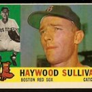 BOSTON RED SOX HAYWOOD SULLIVAN 1960 TOPPS # 474 EM/NM