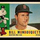 BOSTON RED SOX BILL MONBOUQUETTE 1960 TOPPS # 544 EM/NM