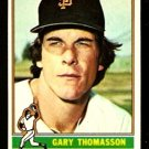 SAN FRANCISCO GIANTS GARY THOMASSON 1976 TOPPS # 261 EX/EM