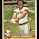 DETROIT TIGERS AURELIO RODRIGUEZ 1976 TOPPS # 267 EX
