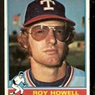 TEXAS RANGERS ROY HOWELL 1976 TOPPS # 279 VG
