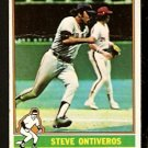 SAN FRANCISCO GIANTS STEVE ONTIVEROS 1976 TOPPS # 284 G/VG
