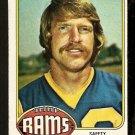 LOS ANGELES RAMS DAVE ELMENDORF 1976 TOPPS # 196 G/VG