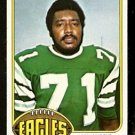 PHILADELPHIA EAGLES WILL WYNN 1976 TOPPS # 199 EX