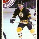 BOSTON BRUINS STAN JONATHAN 1978 OPC O PEE CHEE # 181 NR MT