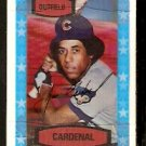 CHICAGO CUBS JOSE CARDENAL 1975 KELLOGGS 3-D SUPER STARS # 29 EM/NM cracked