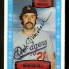 LOS ANGELES DODGERS MIKE MARSHALL 1975 KELLOGGS 3-D SUPER STARS # 36 NM cracked