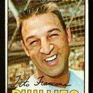PHILADELPHIA PHILLIES TITO FRANCONA 1967 TOPPS # 443 VG/EX